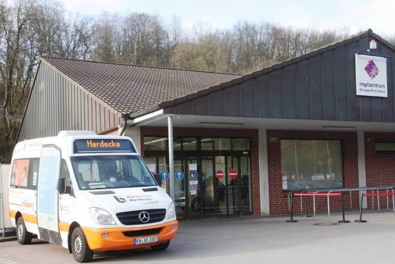 Mit dem Bürgerbus zum Impfzentrum